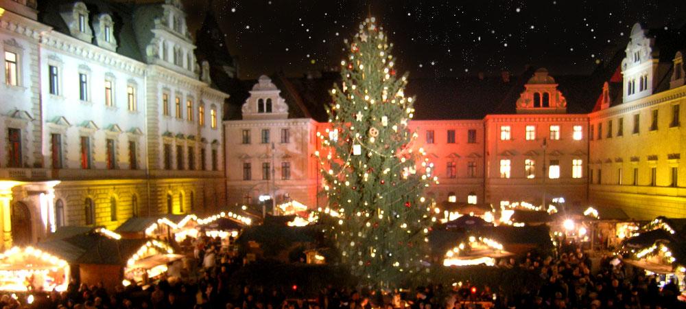 Romantischer Weihnachtsmarkt.Romantischer Weihnachtsmarkt Auf Schloss Thurn Und Taxis